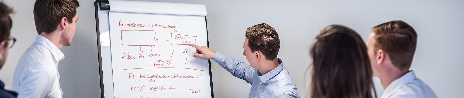 We helpen je graag met het opzetten van een online marketing plan.