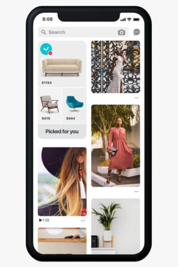 Pinterest Shopping hub