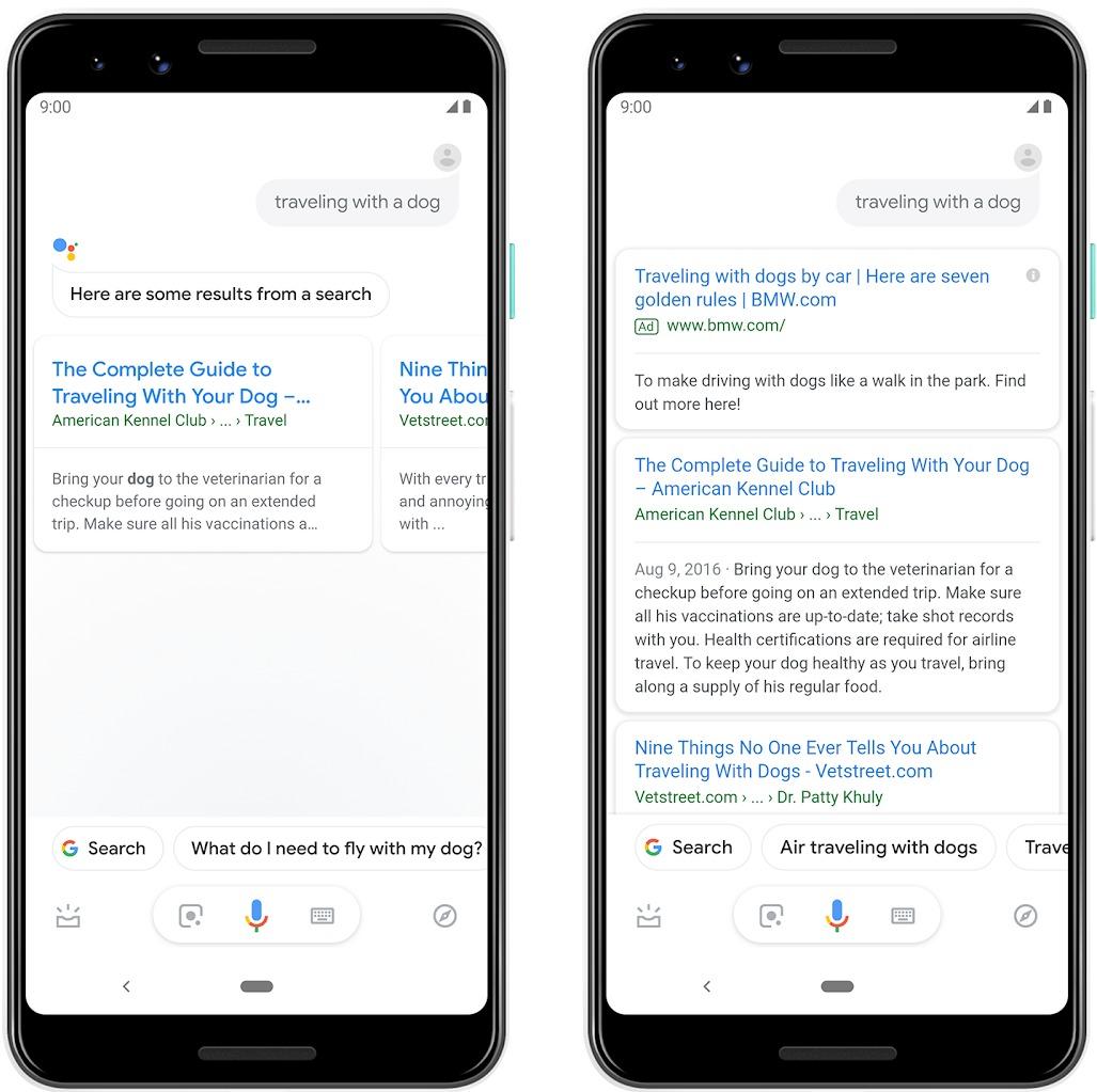 Adverteren Google Assistant Resultaten | Online Marketing Nieuws | Succesfactor.nu