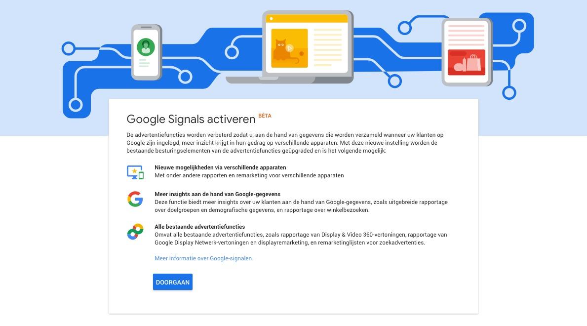 In dit blogartikel lees je wat Google Signals is.