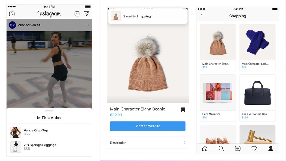 Online Marketing Nieuws | Instagram Shopping Features | Succesfactor.nu