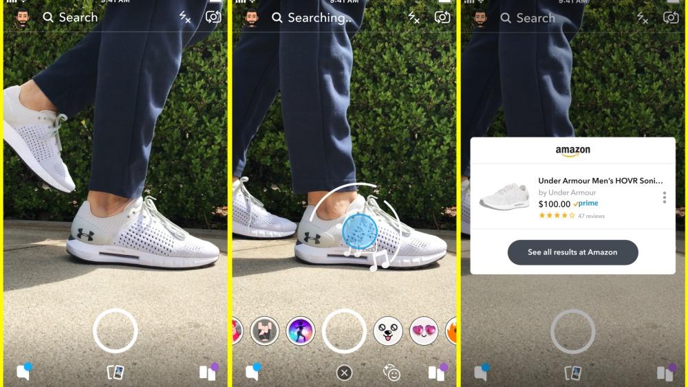 Online Marketing Nieuws week 44 | Snapchat Amazon Visual Search