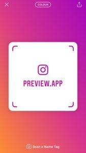 Succesfactor.nu   Online Marketing Nieuws   Instagram Nametag