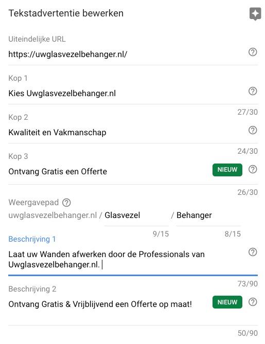 Uitbreiding Tekstadvertenties - Online marketing nieuws week 37 - Succesfactor.nu