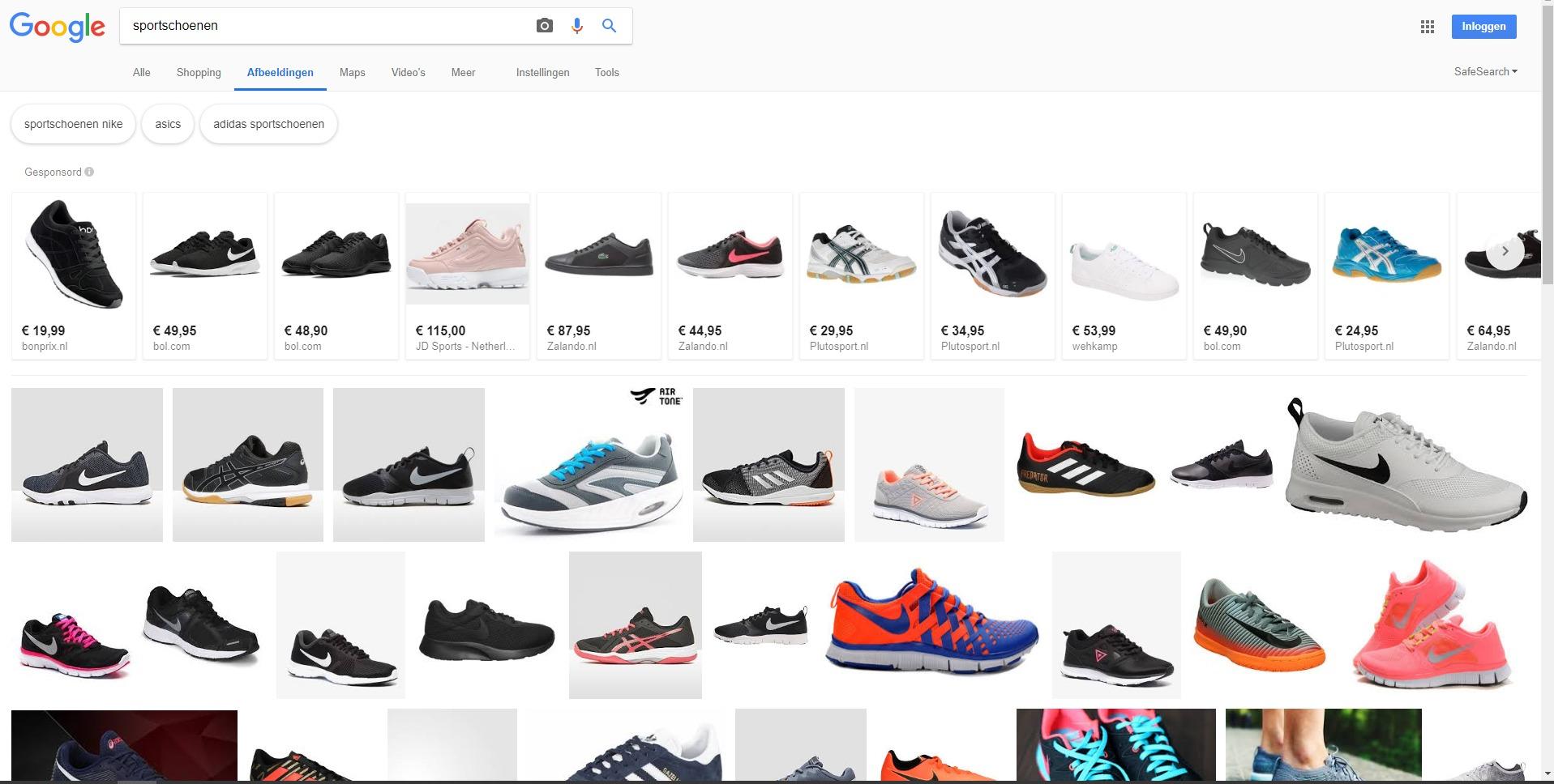 Online Marketing Nieuws week 37 - Shopping in Google Image Search