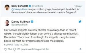 Google verkort Meta-omschrijvingen - Online Marketing Nieuws
