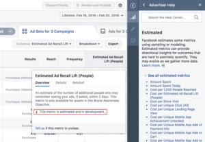 Nieuwe update Facebook AdsManager