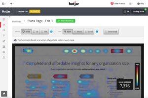 conversie verhogen met de heatmaps van Hotjar