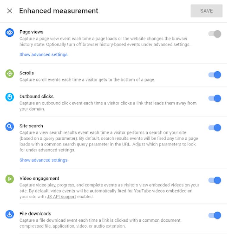 Nieuw datamodel voor Google Analytics voor web- en app metingen