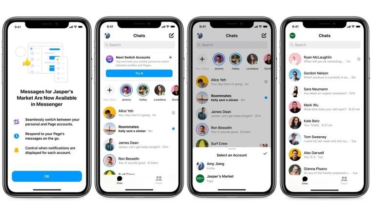 Facebook Messenger krijgt zakelijke inbox