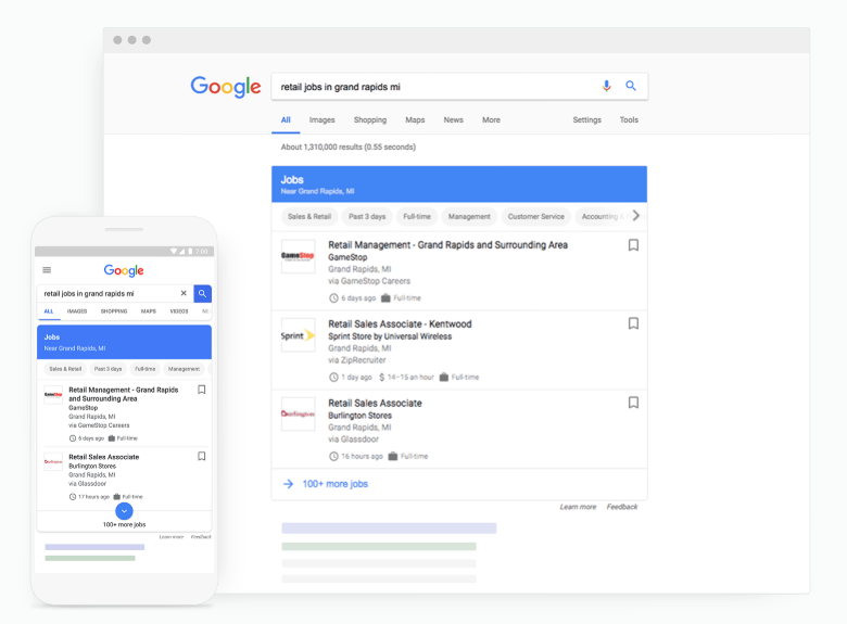 Google Jobs in nederland - Online Marketing Nieuws