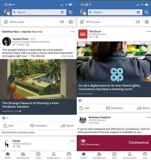 Dit is hoe LinkedIn URL's gaat testen - Online marketing nieuws