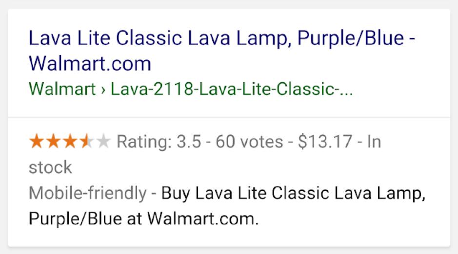 Producten Google ook in zoekresultaten