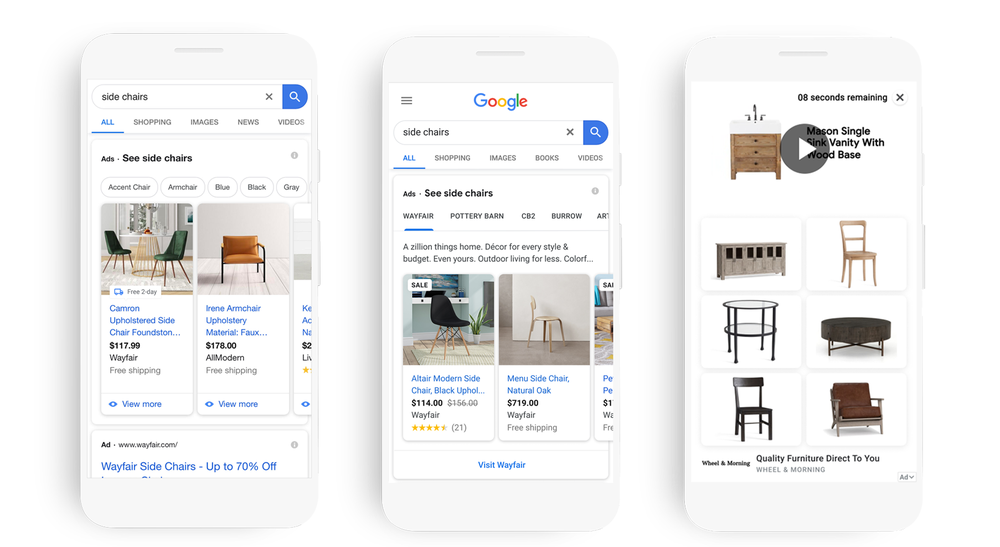 Google Shopping campagnes