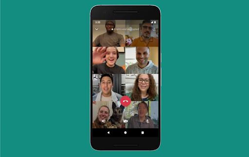 Met meer mensen tegelijk WhatsApp videobellen