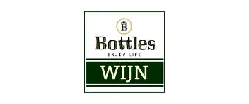 bottles wijn logo