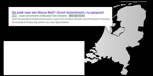 Lokale Google Ads advertenties Tom Smeenk