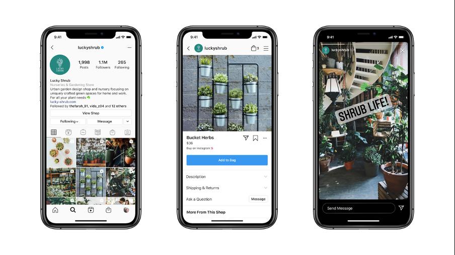 Messenger API support op Instagram