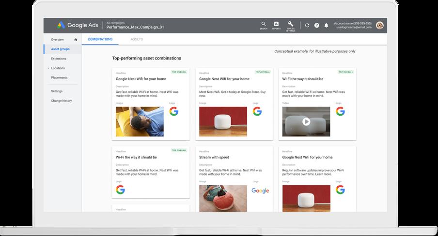 Toevoegingen aan insights Google Ads 4