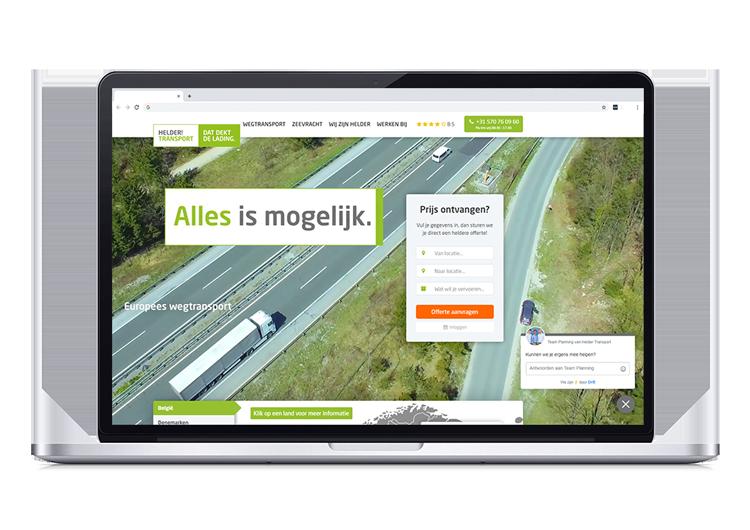 Offerte tool Helder Transport