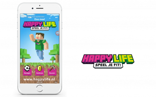 Voorbeeld app advertentie