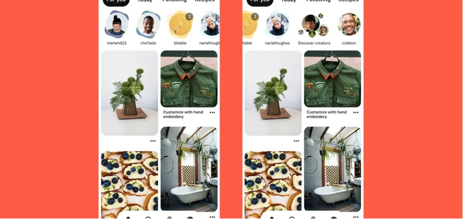 Pinterest story pins follower streams