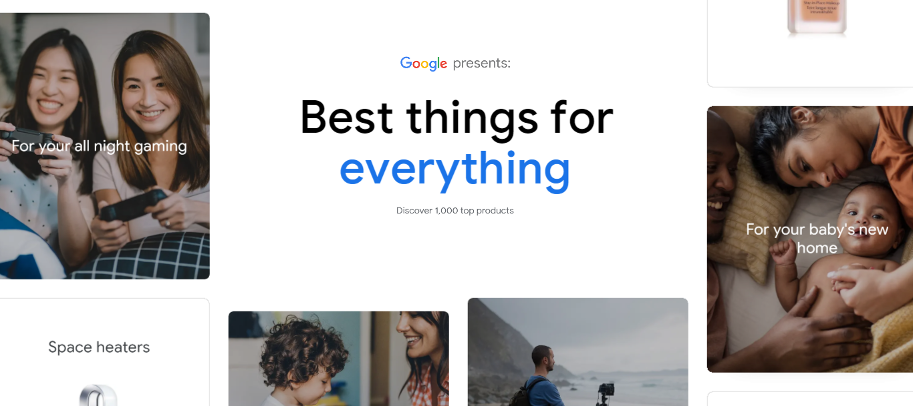 Google Shopping best things to buy